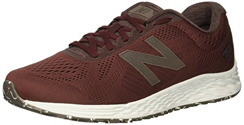 New Balance Men's Arishi V1 Fresh Foam Running Shoe, Nubuck Burgundy, 9.5 4E US