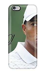 For Iphone 6 Plus Protector Case Tiger Woods Phone Cover(3D PC Soft Case)