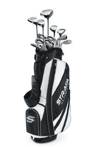 Grips Callaway Club Golf - Callaway Men's Strata Ultimate Complete Golf Set, Prior Generation (18-Piece, Right Hand)