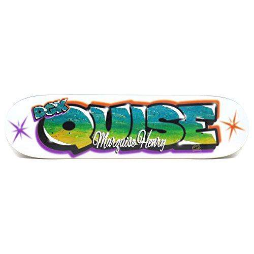 ブランド内側暴動DGK DECK ディージーケー デッキ MARQUISE HENRY AIR BRUSH 8.06 スケートボード スケボー SKATEBOARD
