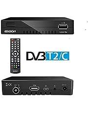 Hybride lite DVB-C HD-kabelontvanger geschikt voor alle Duitse kabelaanbieders, mediaspelers, PVR opnamefunctie en timeshift, USB WiFi Support