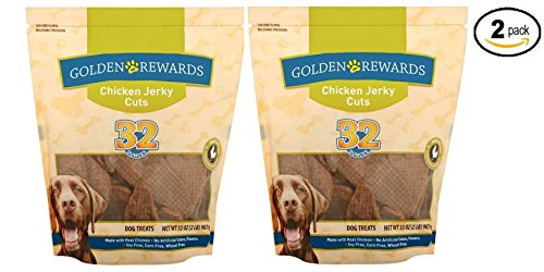 Golden Rewards Chicken Jerky Cuts Dog Treat,32 oz (Made with Real Chicken) - Pack of 2 by Golden Rewards (Image #3)