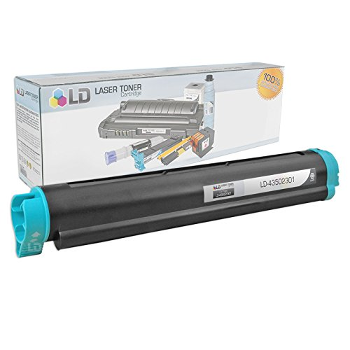 LD © Compatible Replacement for Okidata 43502301 (Type 9) Black Laser Toner Cartridge for use in Okidata B4400, B4400n, B4500, B4500n, B4550, B4550n, B4600, B4600n, and B4600n PS Printers