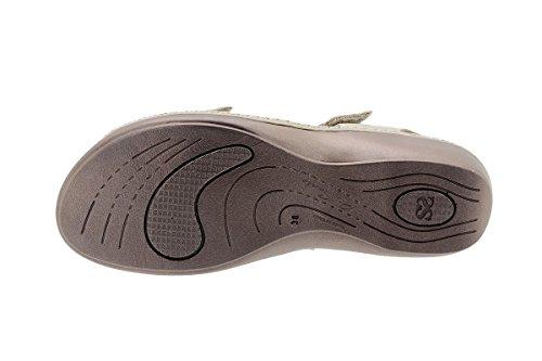 Piel Semelle Sandales à Femme Chaussure Visón Confort 180802 PieSanto Amovible 4fAOawxq