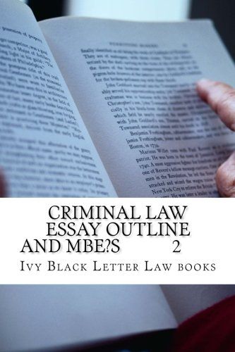 criminal law assessment essay We can help law students not only with writing their criminal law essays but also with revising a poorly written essay that a student might need help on our revision teams can give that essay on a criminal law the proper buff and shine it needs to impress the law professor and earn high marks.