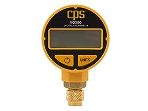 3. CPS VG200: Vacuum Gauge with Digital LCD Display