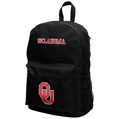 NCAA Officially Licensed Sprint Black Backpack (Oklahoma - Oklahoma Sooners Backpack