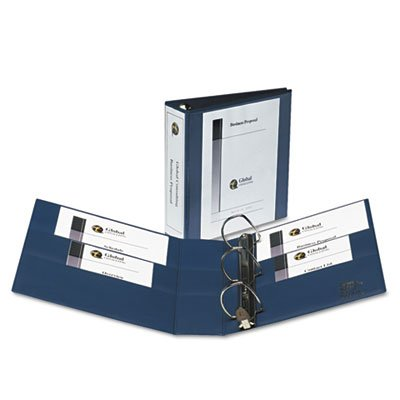 Heavy-Duty View Binder with One Touch EZD Rings, 3
