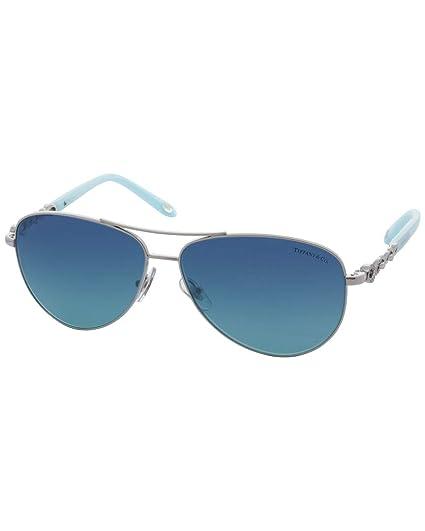 Tiffany & Co. 0TY3049B 60019S 58 Gafas de Sol, Plateado ...
