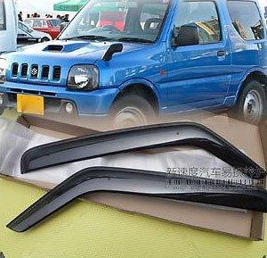 1998 1999 2000 2001 2002 2003 2004 2005 2006 2007 2008 2009 2010 2011 2012 2013 3 Door Window Door Vent Visor Rain Guard Wind Deflectors Fit For Chevrolet Suzuki Jimny Jimmy