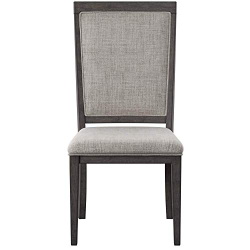 Ashley Furniture Signature Design - Chadoni Dining Side Chair - Set of 2 - Upholstered - Metal Accents - Smoky Gray Finish by Signature Design by Ashley (Image #2)