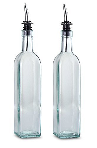 TableCraft 16 oz. Olive Oil Bottle with Pourer Made in USA (Set of 2) Brand New and Fast Shipping by Tablecraft