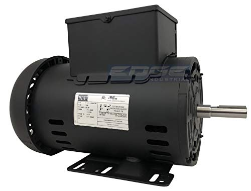 5 HP SPL Compressor Motor Electric 56 Frame Single Phase 3455 rpm, 5/8
