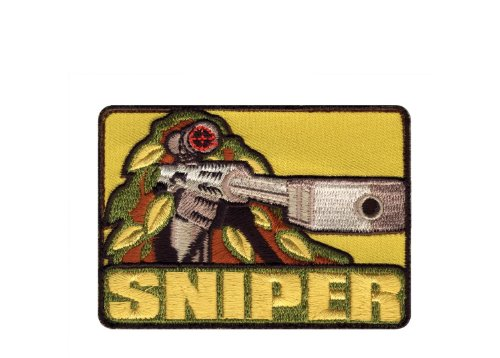 Rothco Sniper Patch with Hook Back