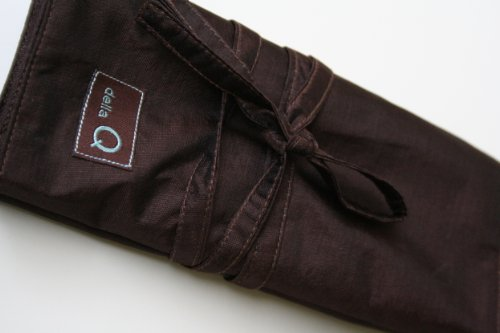Della Q Black Interchangeable Knitting Needle Case Single Set 180-1 ()