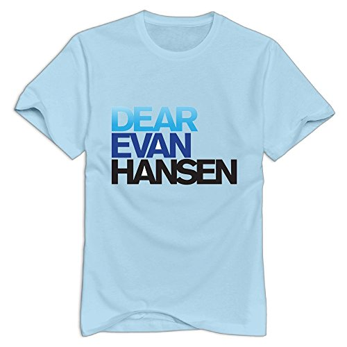 HAOXIANG Dear-Evan-Hansen Men Printing Cool Cotton Shirts