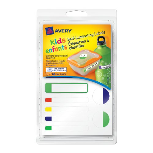 Avery Self Laminating Labels Assorted 41425