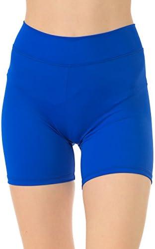 Anza Girls 5インチ股下ダンスショーツバイクヨガ練習Shorts