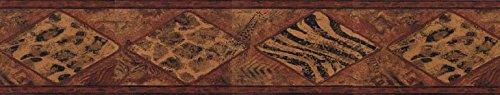 Wallpaper Border - Animal Print Prepasted Wall Border B30018