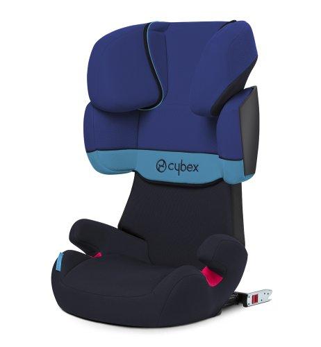 Cybex Silver Solution X-fix Kinderautositz Gruppe 2/3 (ab ca. 3 bis 12 Jahre, 15-36kg) blue moon