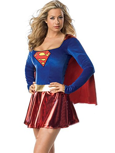 Vivian's Fashions Stunning Supergirl Costume (One Size)