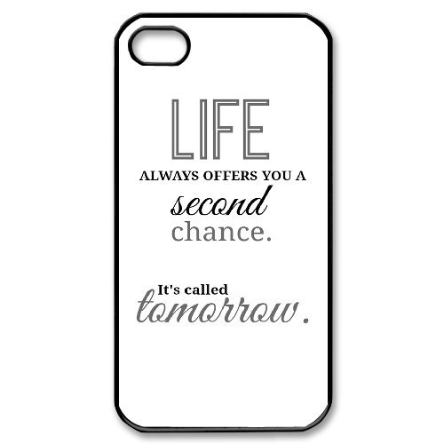 Alice iPhone 4,4s Case,Personalized Custom Life Quotes to love is nothing,Unique Design Protective TPU Hard Phone Case Cover