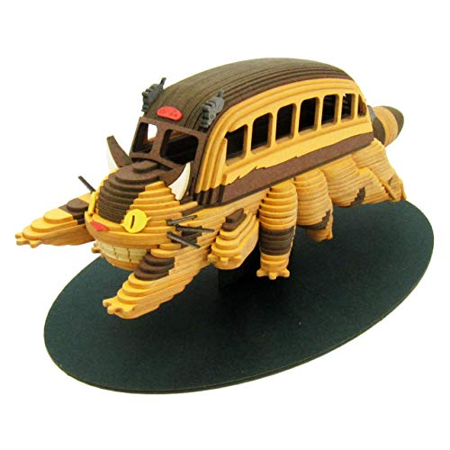 Scale papercraft MK07-23 Totoro catbus Ghibli series and