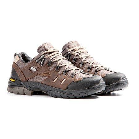 Travelin Skagen - Zapatillas de nordic walking de Piel para hombre Marrón - marrón