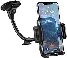 Mpow Handyhalter fürs Auto KFZ Smartphone Halterung,Windschutzscheiben Handyhalterung Auto,Verbesserte Handy Halter für...