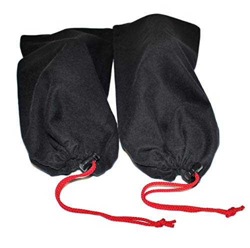 Earthwise Shoe Storage Bags 100% Cotton with Drawstring For Men and Women  Perfect for Travel c24d7c53a2