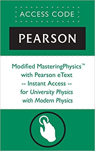 Modified masteringphysics with pearson etext instant access modified masteringphysics with pearson etext instant access for university physics with modern physics mastering physics 14th edition fandeluxe Image collections