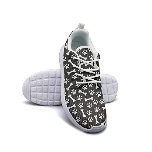 Unicorns Farting Dog Footprints Puppy Foods Men's Running Shoes Foam Quick Drying Gym Shoes Athletic Sneaker
