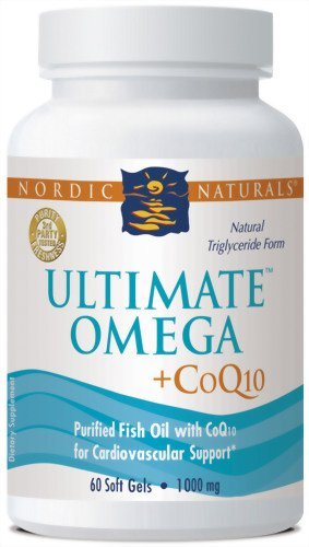 Nordic Naturals Ultimate Omega-CoQ10, 1000mg, 60 Soft Gel Caps (Pack of 3) by Nordic Naturals