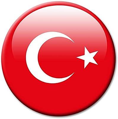 guma magneticum 2609 magnético Bandera Turquía - Viaje Souvenir ...