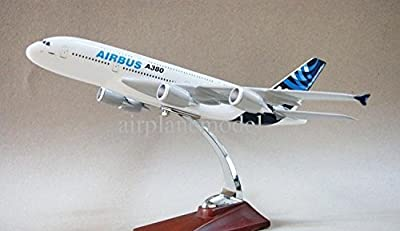 31 cm Airbus A380 Die Cast Metal Desk Aircraft Plane Model by Deal box