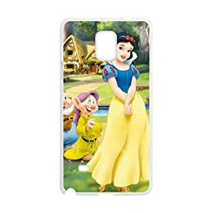 Elegant snow white Cell Phone Case for Samsung Galaxy Note4 by runtopwell