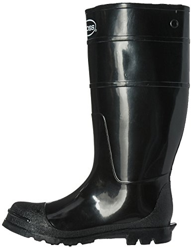 Boss 2KP200109 Mens Black Rubber Boots, Size 9