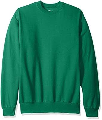 Hanes Men's Ecosmart Fleece Sweatshirt, Kelly Green, Small
