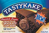 Tastykake Chocolate Lovers Cupcakes Double Chocolate 2 FAMILY SIZE BOXES