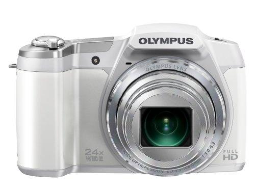 OLYMPUS digital camera STYLUS SZ-16 1600 million pixels CMOS Optical 24x zoom wide angle 25mm White SZ-16 WHT