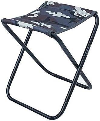 Azarxis Mini Tabouret Chaise de Camping Siège Assise Pliant