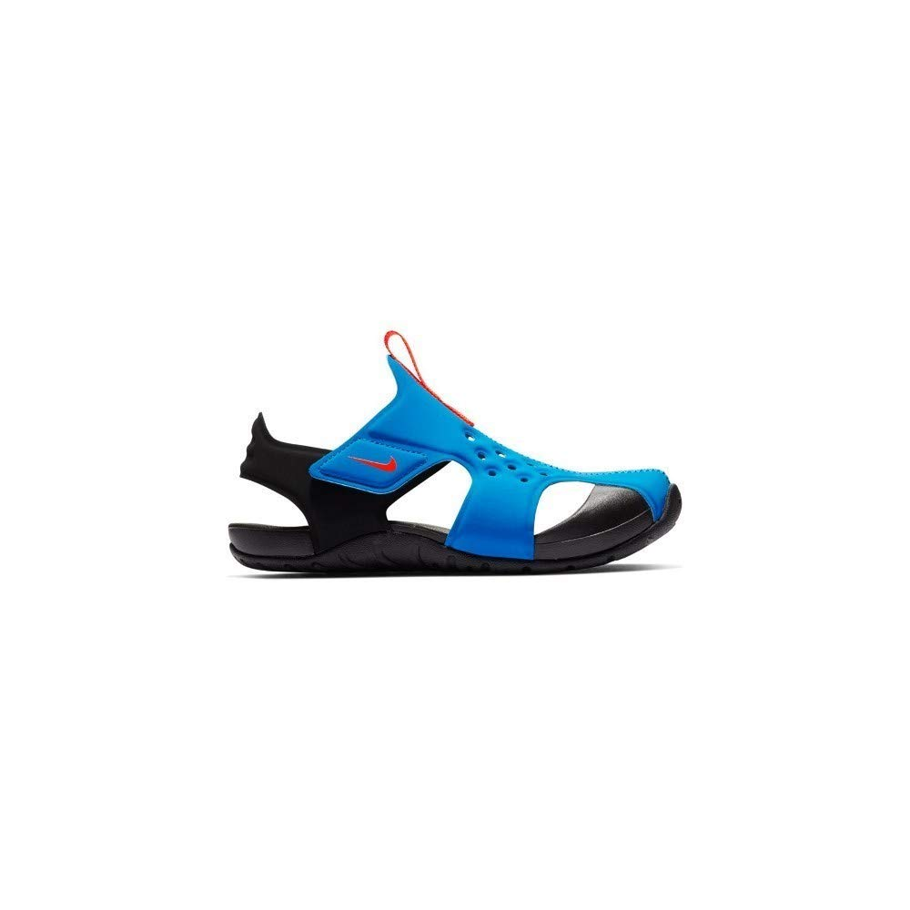 Nike - Sunray Protect 2-943826400 - Color: Blue-Black - Size: 1 Little Kid
