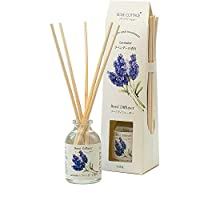 Rose Cottage [Best Gift] Reed Diffuser 30ml Scented Sticks Oil Diffuser Room Fragrance Aroma for Home and Office