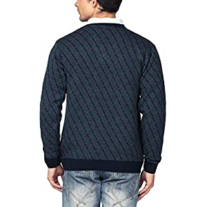 aarbee Men's Blended V Neck Sweater