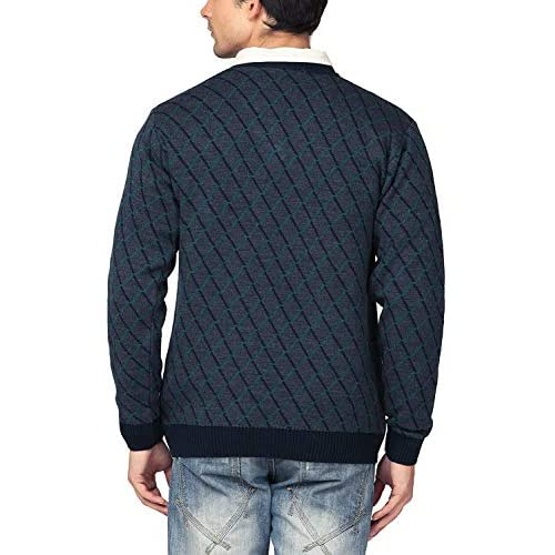 415jKbZBybL. SS500  - aarbee Men's Blended Sweater