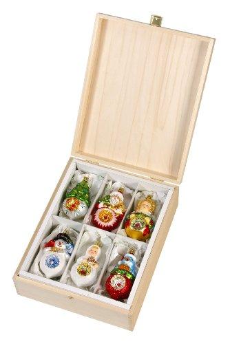 (Inge-Glas Annual Reflector Series - 2007-2012 1-128-12 German Christmas ORN Set)