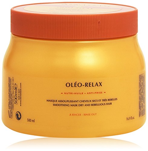 Nutritive Oleo Relax Masque Unisex Hair Mask by Kerastase, 16.9-Ounce (Oleo Relax Masque)