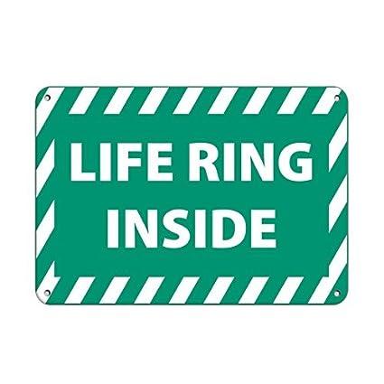 Personalizada anillo de metal signos vida interior actividad ...