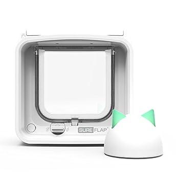 Image of SureFlap Microchip Cat Door Connect with Hub Bundle Pet Supplies
