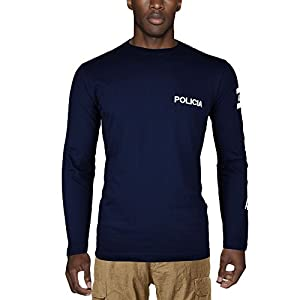 Aircops Camiseta Policia Manga Larga Hombre 9